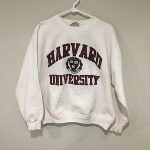 Vintage Harvard University Crewneck Size L